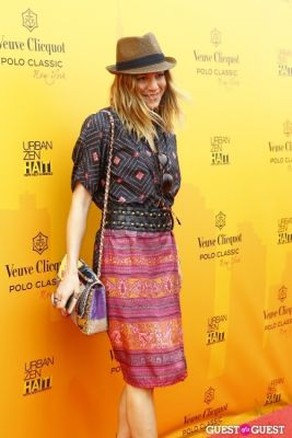 dani stahl in Veuve Clicquot Polo Classic at New York