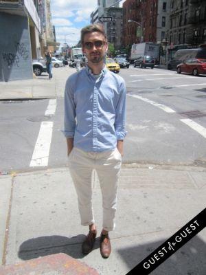 daniel martynetz in Summer 2014 NYC Street Style