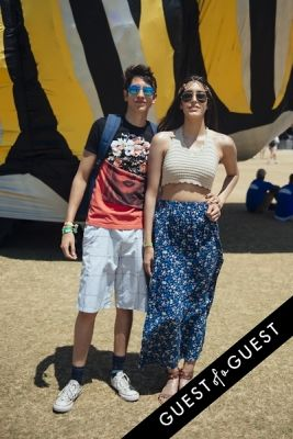 daniela arciniega in Coachella Festival 2015 Weekend 2 Day 3