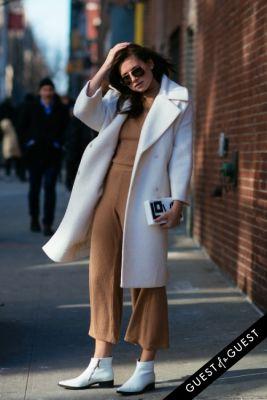 danielle bernstein in NYFW Street Style Day 4