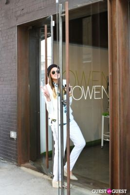 danielle bernstein in Spring Selfie at Owen hosted by Danielle Bernstein of We Wore What