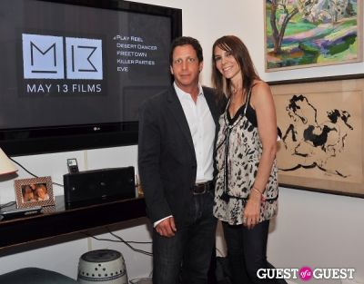 danny bigel in MAY 13 Films movie launch party