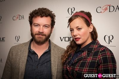 danny masterson in 2014 Vogue Eyewear/CFDA Design Series Featuring Charlotte Ronson