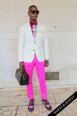 dante blakely in NYFW Style From the Tents: Street Style Day 3