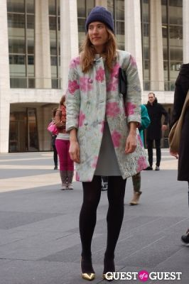 peterson ungaretti in NYFW: Street Style from the Tents Day 5