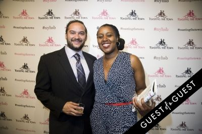 daphnee and-rob-fuentevilla in Toasting the Town Presents the First Annual New York Heritage Salon & Bounty