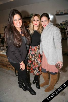 dara senders in Creeds Collective Pop Up