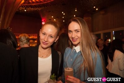 daria davletova in VINCE IPO party at Boom Boom Room