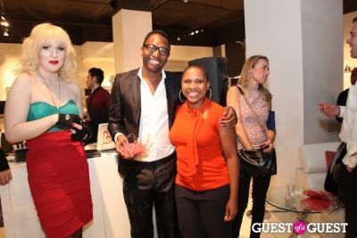 darian darling in Pop Up Event Celebrating Beauty, Art & Fashion