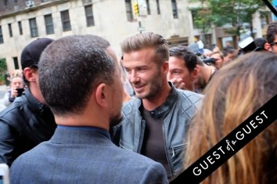 david beckham in NYFW Style From the Tents: Street Style Day 6