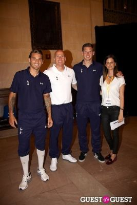 david bentley in EA Sports FIFA 13 and Tottenham Soccer Club Media Event