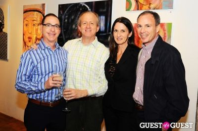 peter traberman in Billy Norwich, Gillian Hearst and the Sanctuary Hotel host party for artist Garrett Chingery