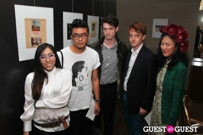 david chen in Lance Out Loud Book Launch