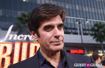 david copperfield in World Premiere of The Incredible Burt Wonderstone