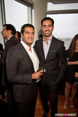 ben haghani in Lionheart Group's Cocktail Soiree