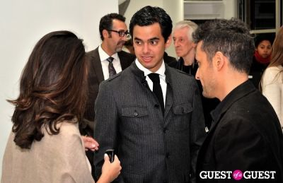 "ricardo rendón in Ricardo Rendon ""Open Works"" exhibition opening"