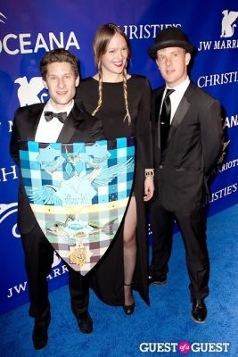valerie veetch in Oceana's Inaugural Ball at Christie's