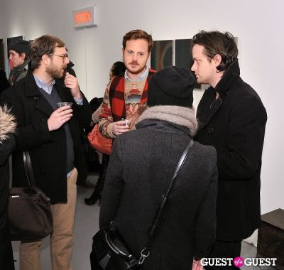 ryan macfarland in Retrospect exhibition opening at Charles Bank Gallery