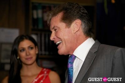 david hasselhoff in 'Chasing The Hill' Reception Hosted by Gov. Gray Davis and Richard Schiff
