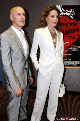 marisa berenson in NY Premiere of 'South of the Border'