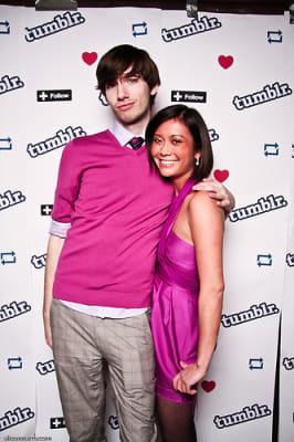 david karp in Tumblr's SXSW Party
