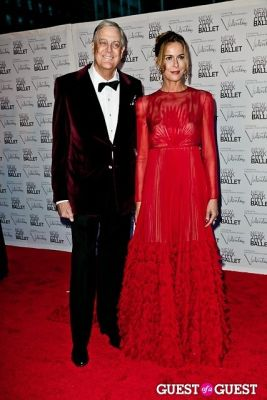 david koch in New York City Ballet Fall Gala Celebrates Valentino
