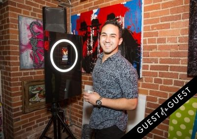david lopez in Hollywood Stars for a Cause at LAB ART
