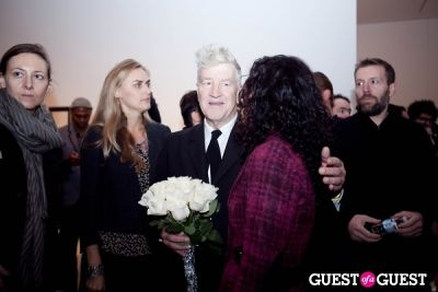 david lynch in David Lynch 'Naming' Opening Reception