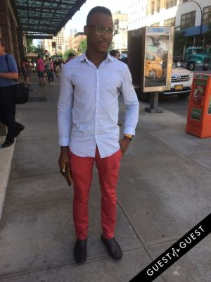 david muhlemann in Summer 2014 NYC Street Style