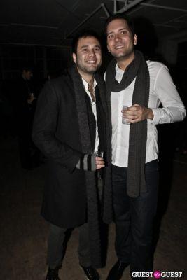 david nisenbaum in Andrew Buckler FW10 After Party