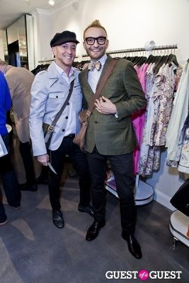 fabrizio borg in The Well Coiffed Closet and Cynthia Rowley Spring Styling Event