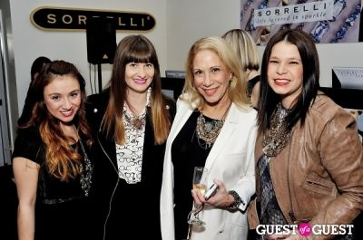 jen jeffery in Sorrelli Montclair Store Opening