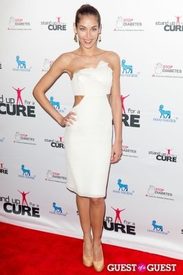 dayana mendoza in Stand Up for a Cure 2013 with Jerry Seinfeld