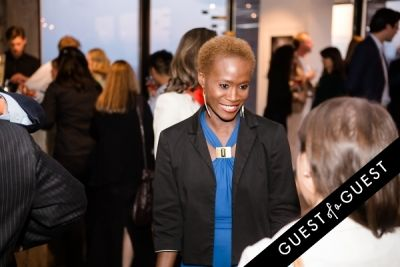 deborah bernard in Ebony and Co. Design Week Party