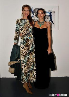 deborah curtis-setchel in Conor Mccreedy - African Ocean exhibition opening