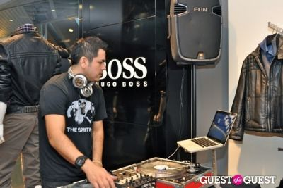 "deejay hem in Hugo Boss ""Boss Store"" Opening"