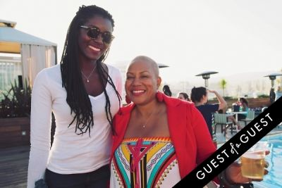 felicia leatherwood in Posh Beauty and One Medical Group cocktail soiree