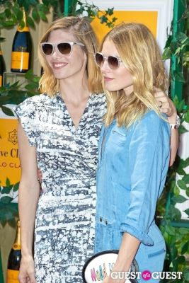 dree hemingway in Veuve Clicquot Polo Classic 2013