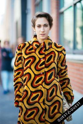 delfina delettrez in Milan Fashion Week Pt 1