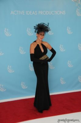 denise woods in The Pointe Suite Art Ball