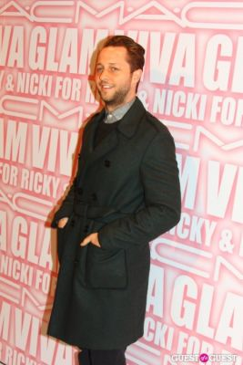 derek blasberg in MAC Viva Glam Launch with Nicki Minaj and Ricky Martin