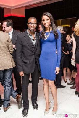 derek brown in NYFA Hall of Fame Benefit Young Patrons After Party