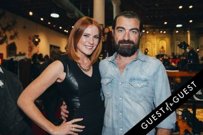 massimo geraci in Amanda Shi Spring 2015 Collection Preview