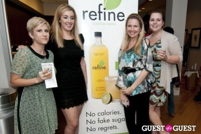 sarah lasky in Refine Mixers and Blo Bar at the Equinox