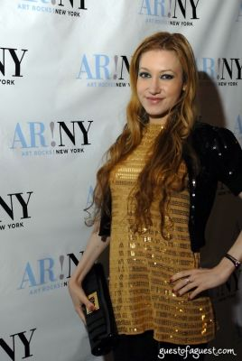 devorah rose in ART ROCKS BENEFIT - Bowery Hotel
