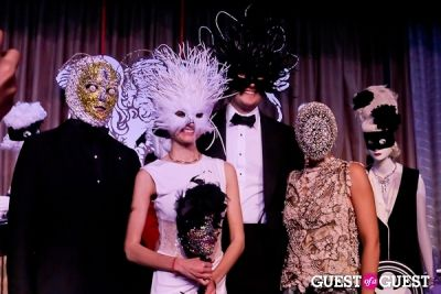 ashley passick in Save Venice's Un Ballo in Maschera – The Black & White Masquerade Ball
