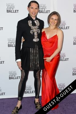 carolina portago in NYC Ballet Fall Gala 2014