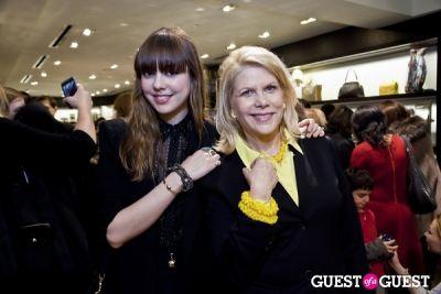francine lefrak in Henri Bendel + SAME SKY Ethical Shopping Event