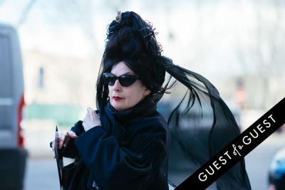 diane pernet in Paris Fashion Week Pt 1