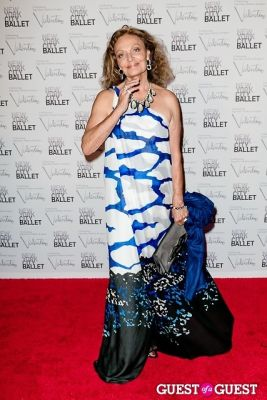 diane von-furstenberg in New York City Ballet Fall Gala Celebrates Valentino